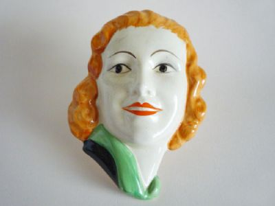 Lancaster and Sons 'Ginger Rogers' Wall Mask c1935
